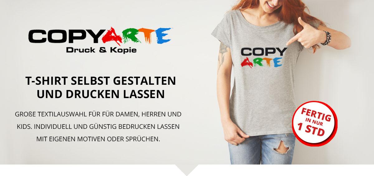 new style 41524 a3492 T-Shirt bedrucken be Copy Arte in Bornheim - Gestaltung und ...